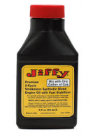 Jiffy Two-Cycle Smokeless Synthetic Blend Engine Oil