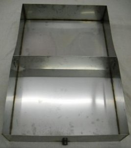 "Stainless Steel Maple Syrup Sap Pan 24"" x 36"" x 6"" With Divider"