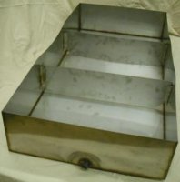 Stainless Steel Maple Syrup Sap Pan 24 x 48 x 8 With 2 Dividers