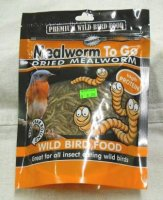Unipet Mealworms 3.5 oz.