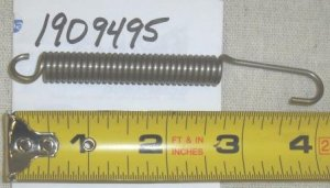 Bolens Extension Spring Part# 1909495