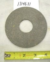 Troy Bilt/Bolens Friction Disc Lining Part# 1714631