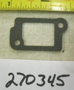 Briggs and Stratton Intake Tube Gasket Part# 270345