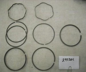 Briggs and Stratton Chrome Ring Set Part# 297201