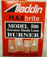 Aladdin Instant Light Burner N500B