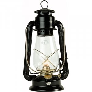 Dietz Junior Lantern with Black with Gold Trim