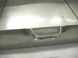 Handle For Pan (welded onto your pan)