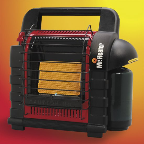 Mr. Heater Portable Buddy Propane Heater - Click Image to Close