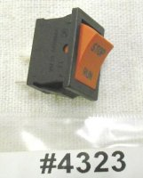 Jiffy Ice Auger Rocker Switch Part # 4323