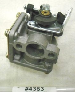 Jiffy Ice Auger Propane Carburetor Part # 4363