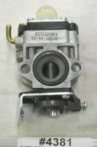 Jiffy Ice Auger Carburetor Part # 4381