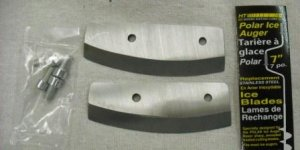 "HT 7"" Hand Ice Auger Replacement Blades Part# PARB-7"
