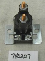 Lawn Boy Solenoid Part# 740207