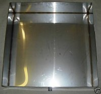 "Stainless Steel Maple Syrup Boil Pan 24""x24""x6"""