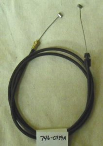MTD Speed Control Cable Part# 746-0939A