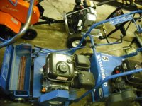Blue Bird Gas Over-Seeder