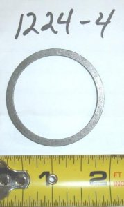 Troy Bilt Tiller Input Shaft Shim Part#1224-4