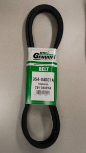 Variable Speed Drive Belt #754-04001A (954-04001A)