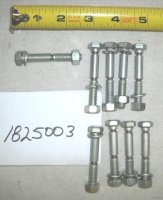 Troy Bilt Shear Bolt Set Part# 1825003