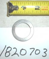 Troy Bilt Washer/Shim Part# 1820703