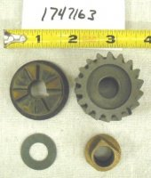 Troy Bilt Gear Clutch Assembly Part# 1747163