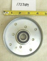 Troy Bilt Flat Idler Pulley Part# 1737189