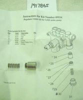 Troy Bilt Regulator Kit Part# 1917865