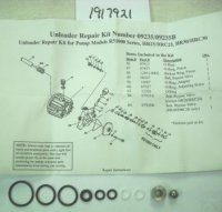 Troy Bilt Unloader Valve Kit Part# 1917921