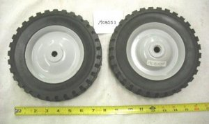 Troy Bilt Pushmower Wheel Part# 1908553