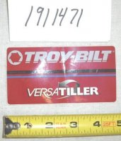 Troy Tiller Brand Decal Part# 1911471