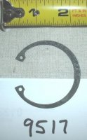 Troy Bilt Tiller Internal Retaining Ring Part # 9517