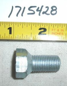 Troy Bilt Lawn Tractor Wheel Bolt Part# 1715428