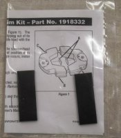 Rubber Shim Kit # 1918332