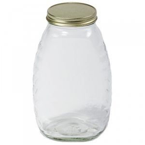 32oz (2lb.) Glass Jar-Case of 12 #HJAR32