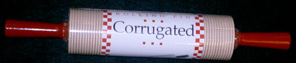 Bethany Heritage Corrugated Rolling Pin
