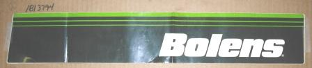 Bolens Decal Left Hand Logo Part# 1813794