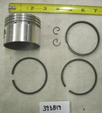 Briggs and Stratton Piston Assembly Part# 393819