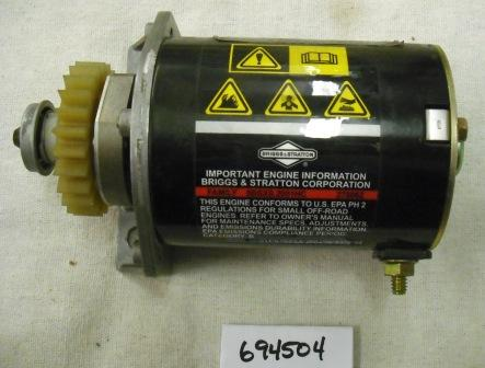 Briggs and Stratton Electric Starter Motor Part# 694504