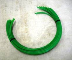 "12 pc. Green 23"" Trimmer Mower Line .155 (145321)"