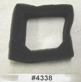 Jiffy Ice Auger Foam Air Filter Part # 4338