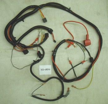 MTD Wiring Harness Part# 753-0870