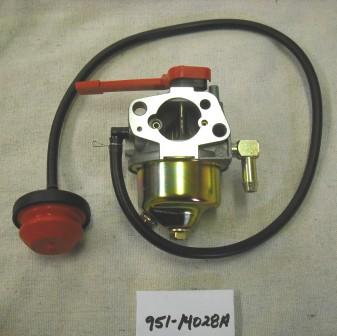 MTD Carburetor Part# 951-14028A MTD Carburetor Part# 951