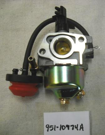 MTD Carburetor Part# 951-10974A
