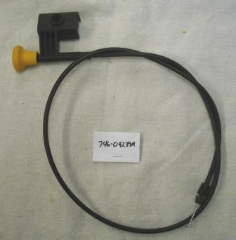 MTD Choke Cable Part# 746-04239A