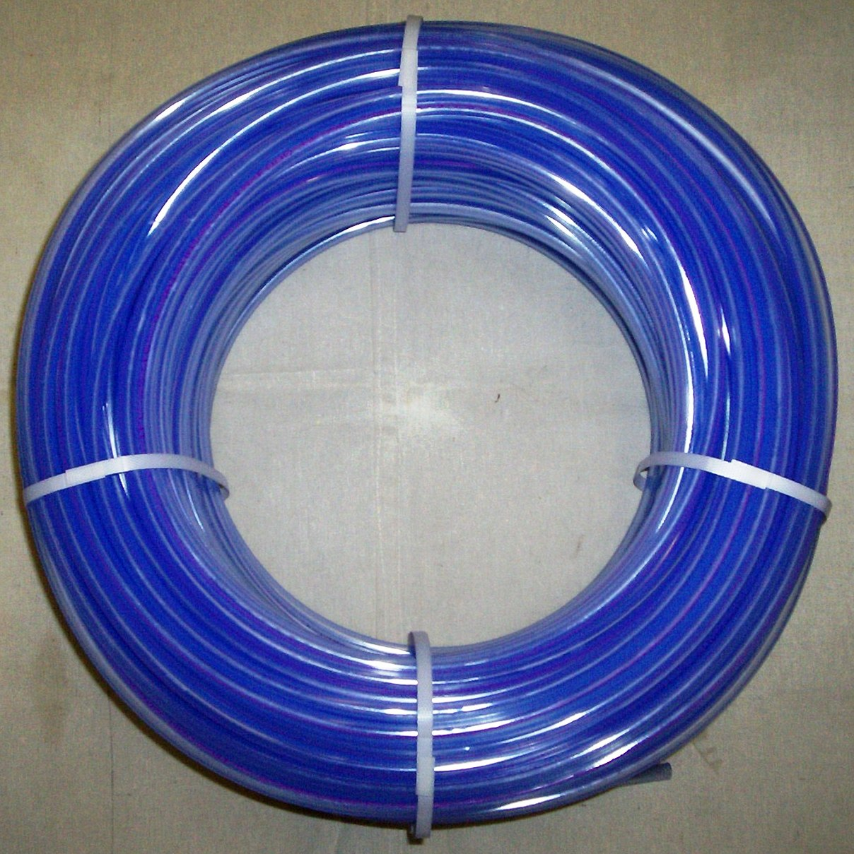 "5/16"" Blue Translucent Tubing - Click Image to Close"