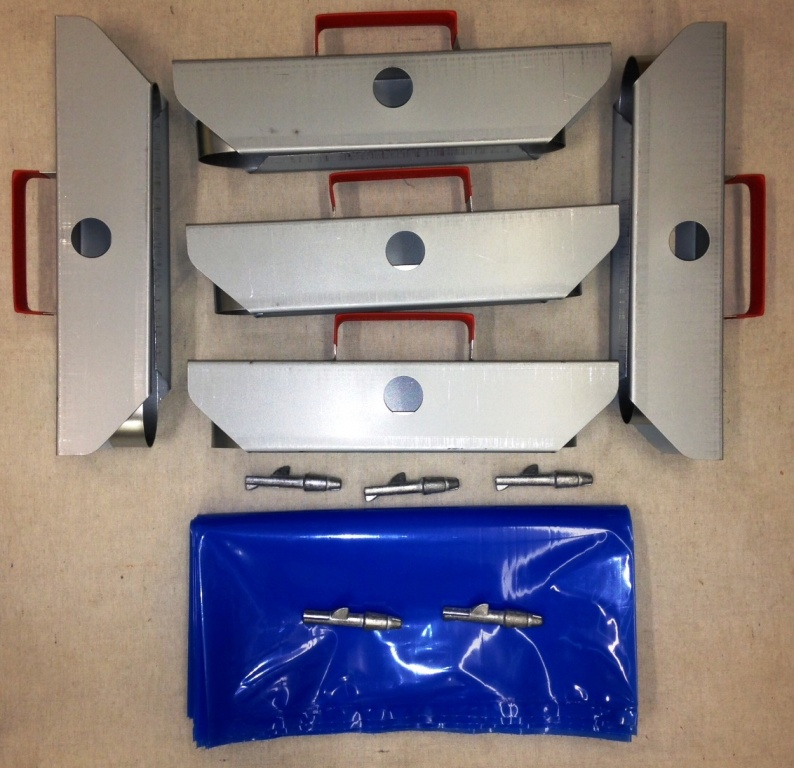 Maple Syrup Starter Set - 5 Holders, Taps, Bags