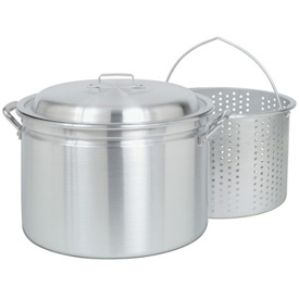 34 quart Aluminum Pot