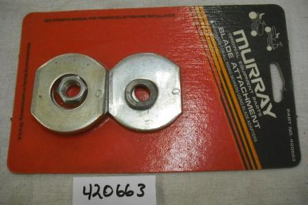 Murray Blade Mounting Hardware Part# 420663