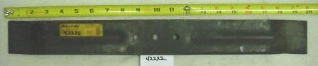 Murray Riding Mower Blade Part# 42222