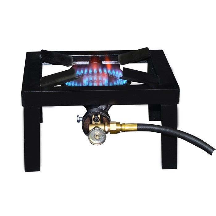 One Burner Angle Iron Portable Stove by Mr. Heater Basecamp